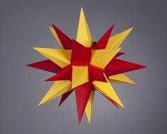 Stern i4 - 40cm Durchmesser gelb-rot, orginal Herrnhuter