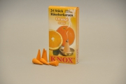 KNOX Räucherkerzen Orange, 24 Stk./Pkg.