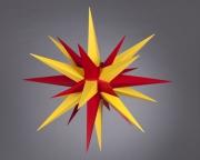 Stern i7 - 70cm Durchmesser gelb-rot, orginal Herrnhuter